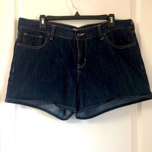 OLD NAVY THE FLIRT DARK DENIM SZ 12